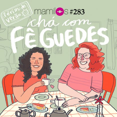 Capa - Chá com Fê Guedes