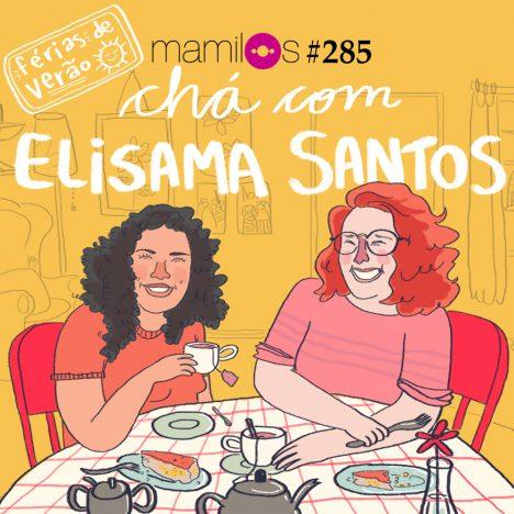 Capa - Chá com Elisama Santos