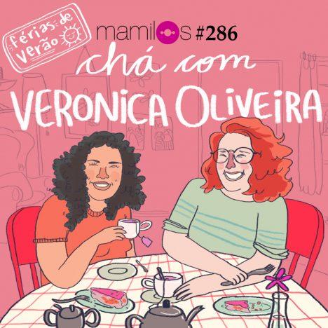 Capa - Chá com Veronica Oliveira