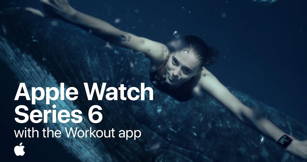 """Série de anúncios da Apple aborda """"o futuro da saúde"""" através do Apple Watch 6"""