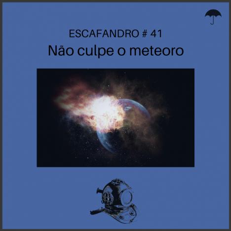 Capa - Não culpe o meteoro