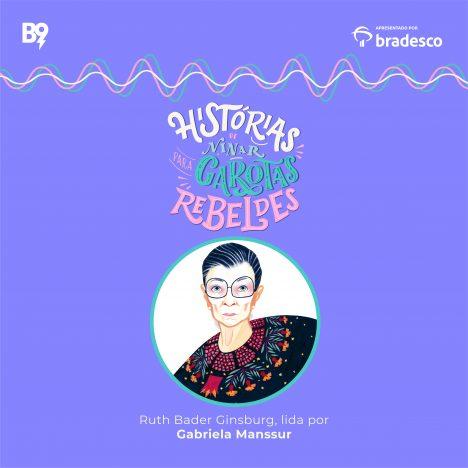 Capa - Ruth Bader Ginsburg, lida por Gabriela Manssur