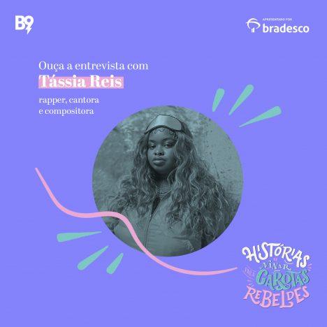 Capa - Entrevista com Tássia Reis, rapper, cantora e compositora
