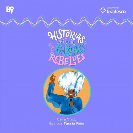 Capa - Celia Cruz, lida por Tassia Reis