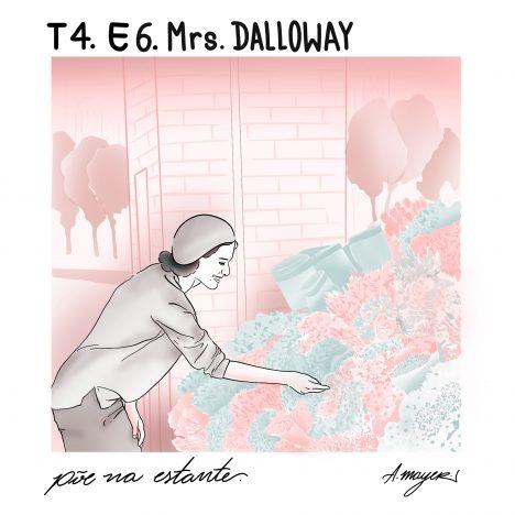 Capa - Mrs. Dalloway, de Virginia Woolf