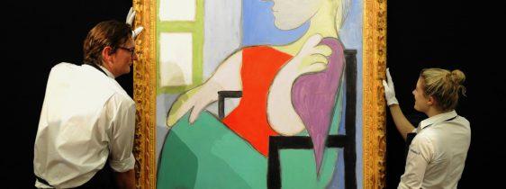 picasso-Femme assise près d'une fenêtre