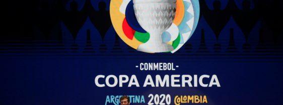 Cerimônia realizada pela Conmebol para a Copa América