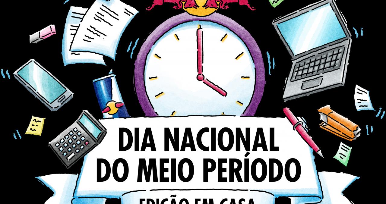 """Para incentivar descanso no home office, Red Bull lança edição """"em casa"""" do Dia Nacional do Meio Período"""