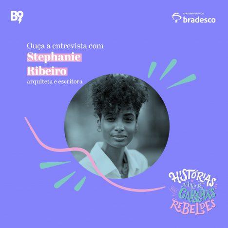 Capa - Entrevista com Stephanie Ribeiro, arquiteta e escritora