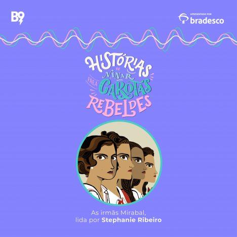 Capa - The Mirabel Sisters, lida por Stephanie Ribeiro