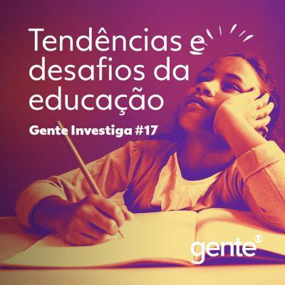 Capa - Tendências e desafios da educação