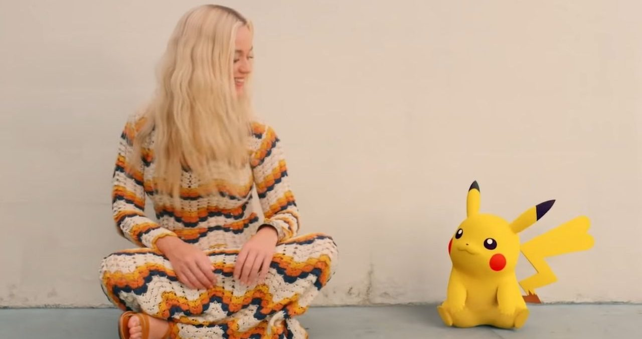 Katy Perry e Pikachu são amigos em clipe que celebra 25 anos da saga Pokémon