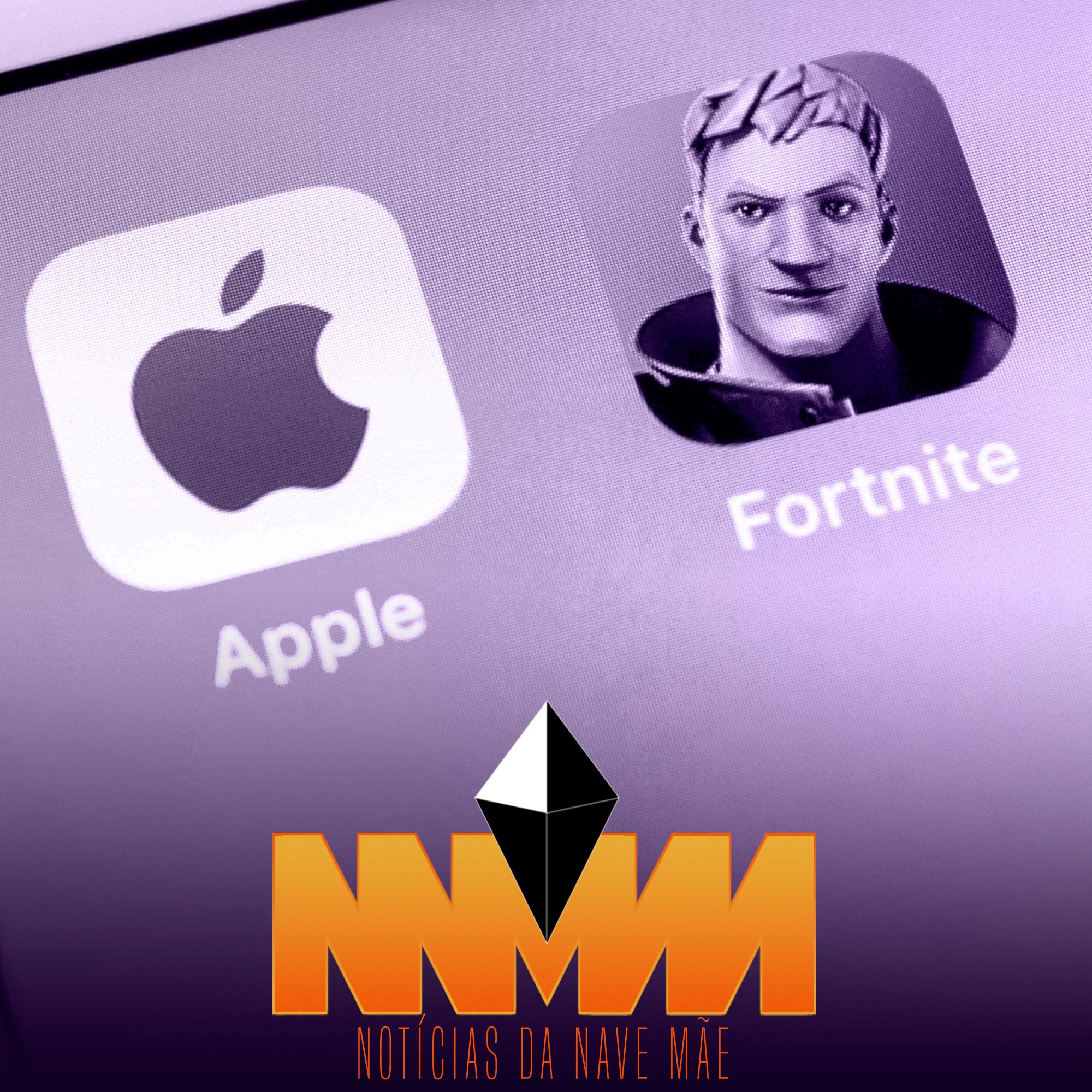 Capa - Notícias da Nave Mãe 113 – Informações que surgiram da disputa entre Apple e Epic, PlayStation firma parceria com Discord e mais