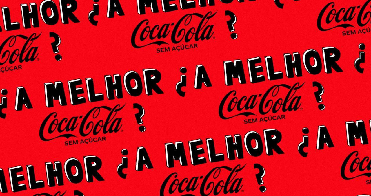 Coca-Cola lança nova receita de Coca-Cola Sem Açúcar, que também ganha identidade visual repaginada