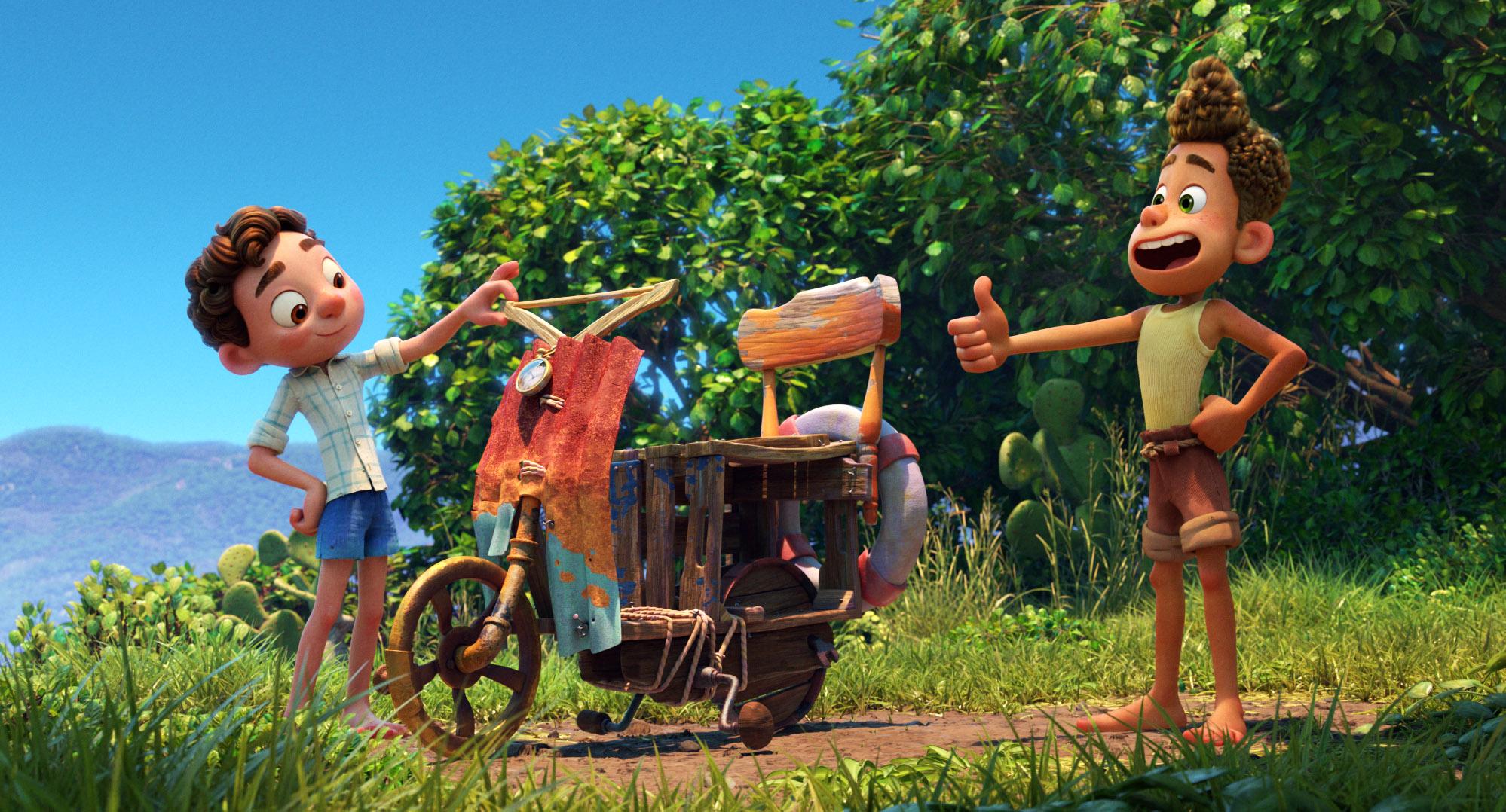 Cena de Luca, novo filme da Pixar - legadoplus