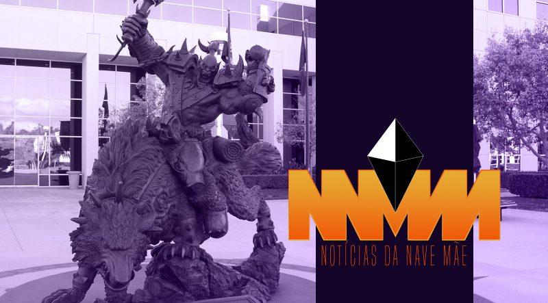 Notícias da Nave Mãe 123 – Califórnia processa Activision Blizzard por discriminação e assédio