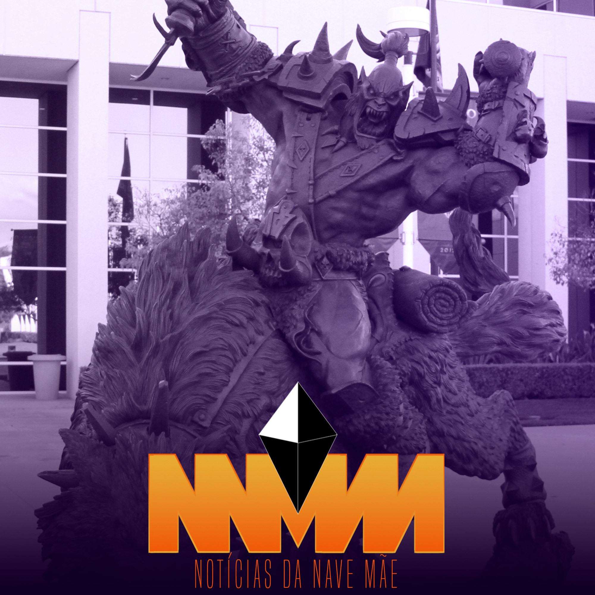 Capa - Notícias da Nave Mãe 123 - Califórnia processa Activision Blizzard por discriminação e assédio
