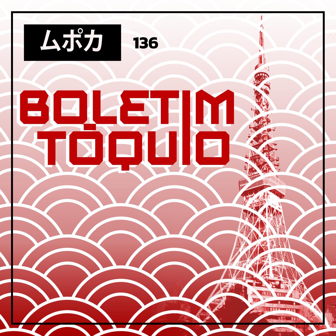 Capa - Boletim Tóquio