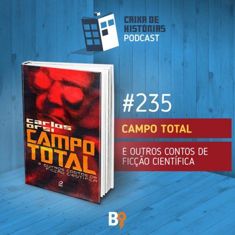 Capa - Campo total e outros contos de ficção científica