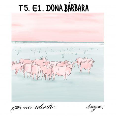 Capa - Dona Bárbara, de Rómulo Gallegos