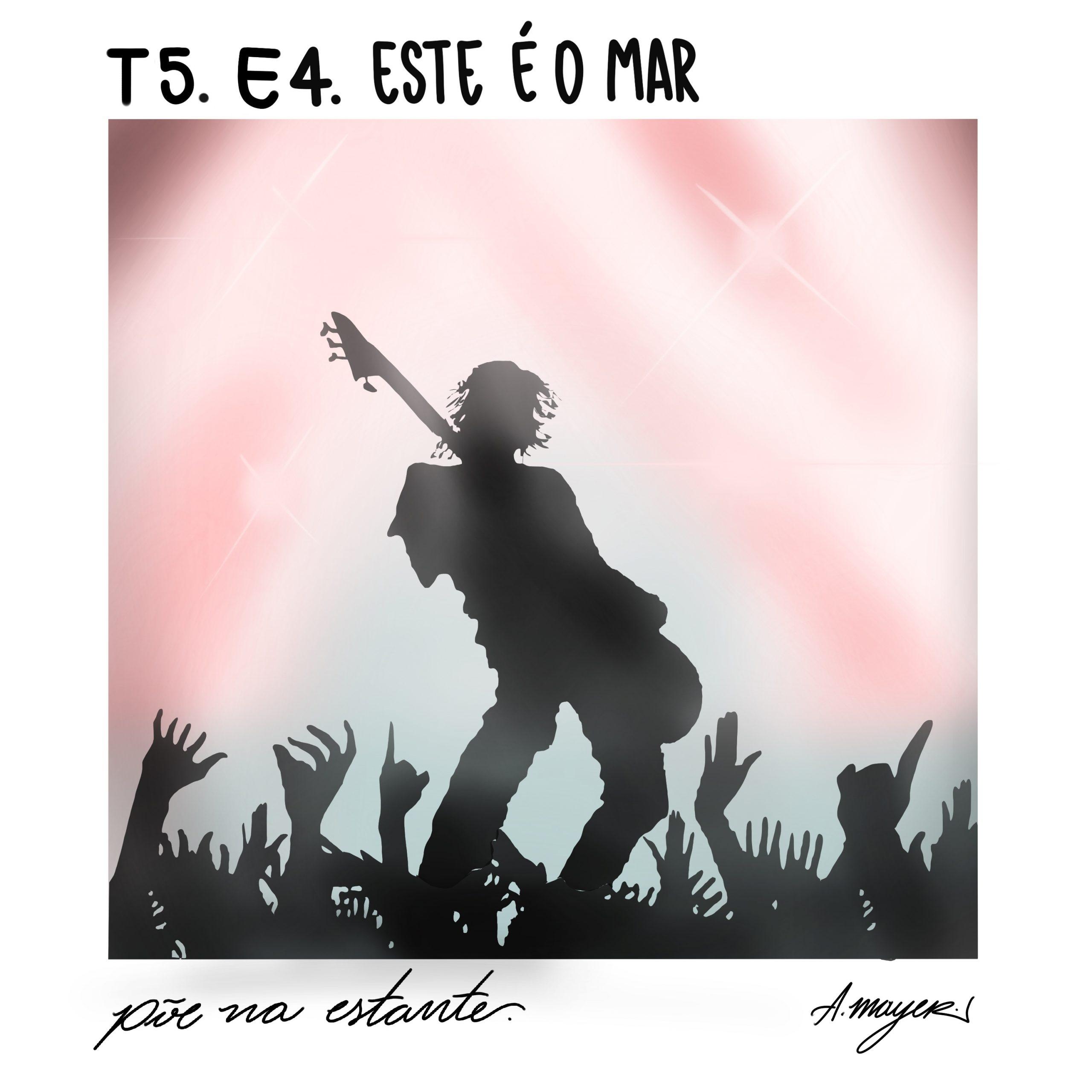 Capa - Este é o Mar, de Mariana Enriquez