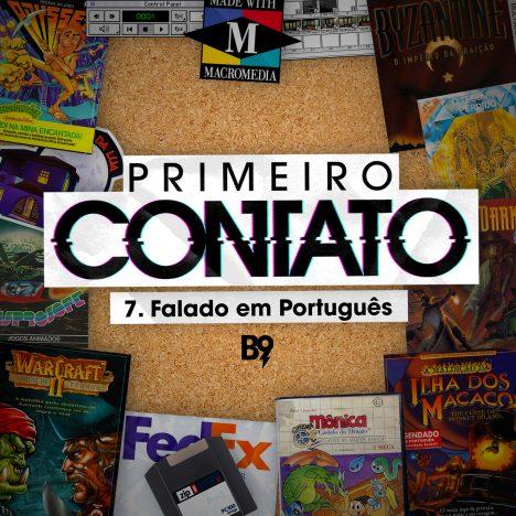 Capa - Falado em português
