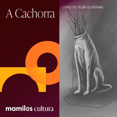 """Capa - Mamilos Cultura 43: Livro """"A Cachorra"""" – Maternidade e Violência"""