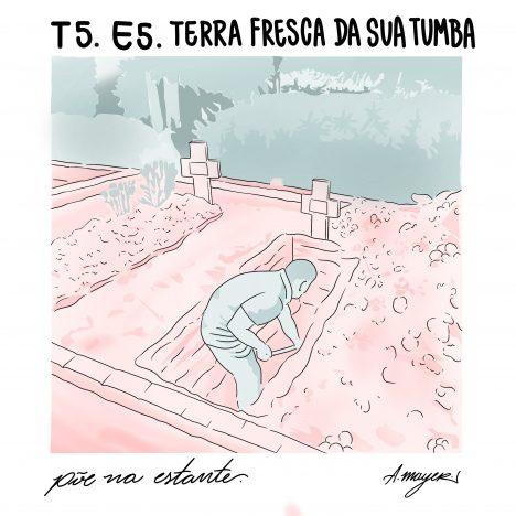 Capa - Terra Fresca da Sua Tumba, de Giovanna Rivero